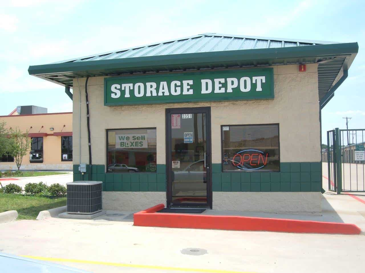 fort worth climate controlled storage