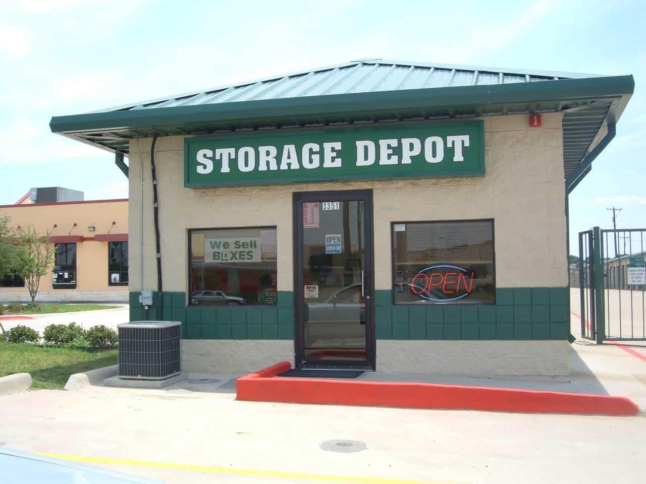 fort worth storage